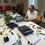 Workshop bei der Pro Retina mit Spezialfiltern und Travellar HD