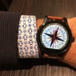 Ziffernblatt als Kompass