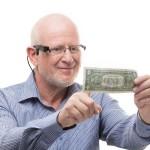 OrCam erkennt auch Geldscheine