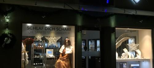 Weihnachtsschaufenster Moosburger Märchenweihnacht