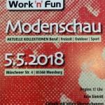 Modenschau am 05.05.2018