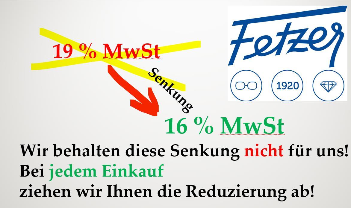 MwSt-Senkung