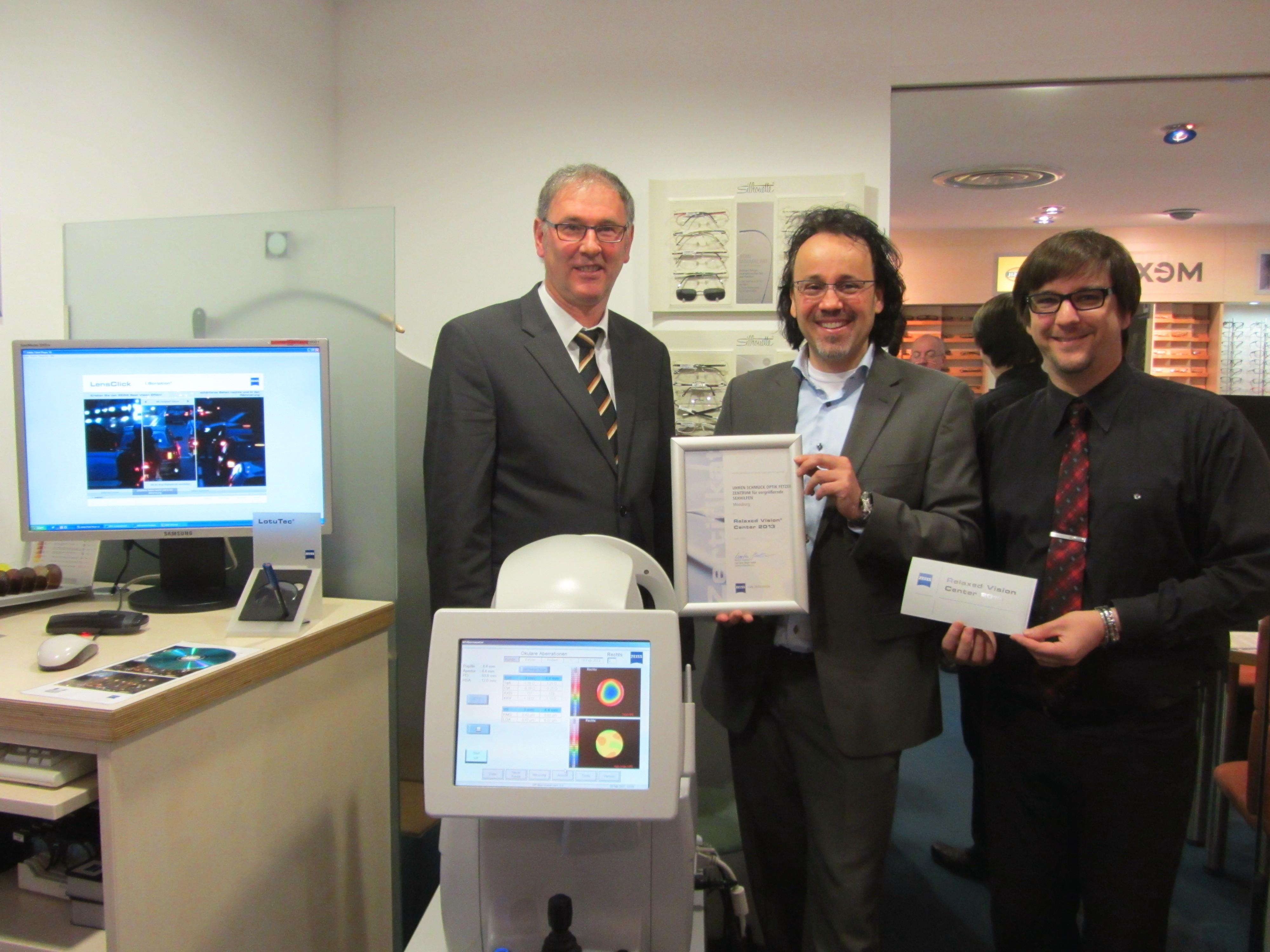 RVC 2013 Urkundenüberreichung