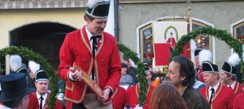 Auftritt der Schäffler 2007