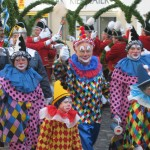 Die Clowns mit den Spendenbüchsen