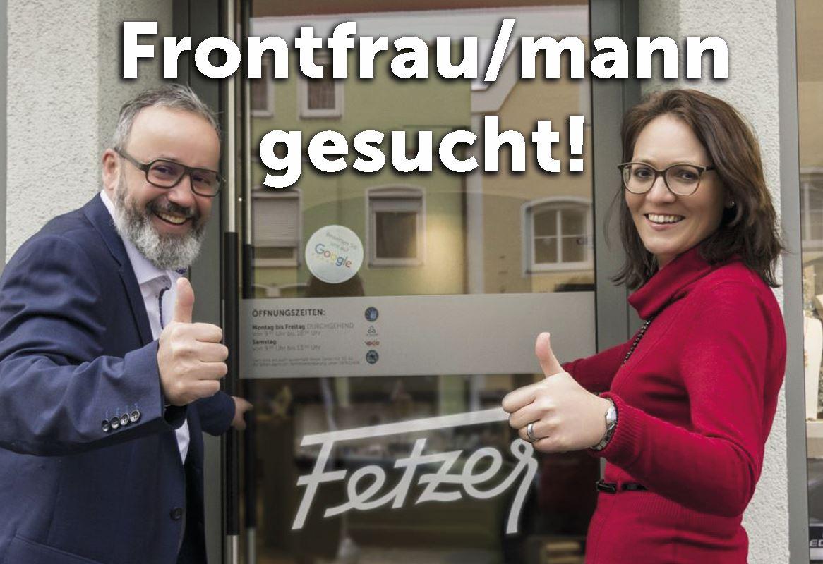 Frontfrau/mann gesucht!